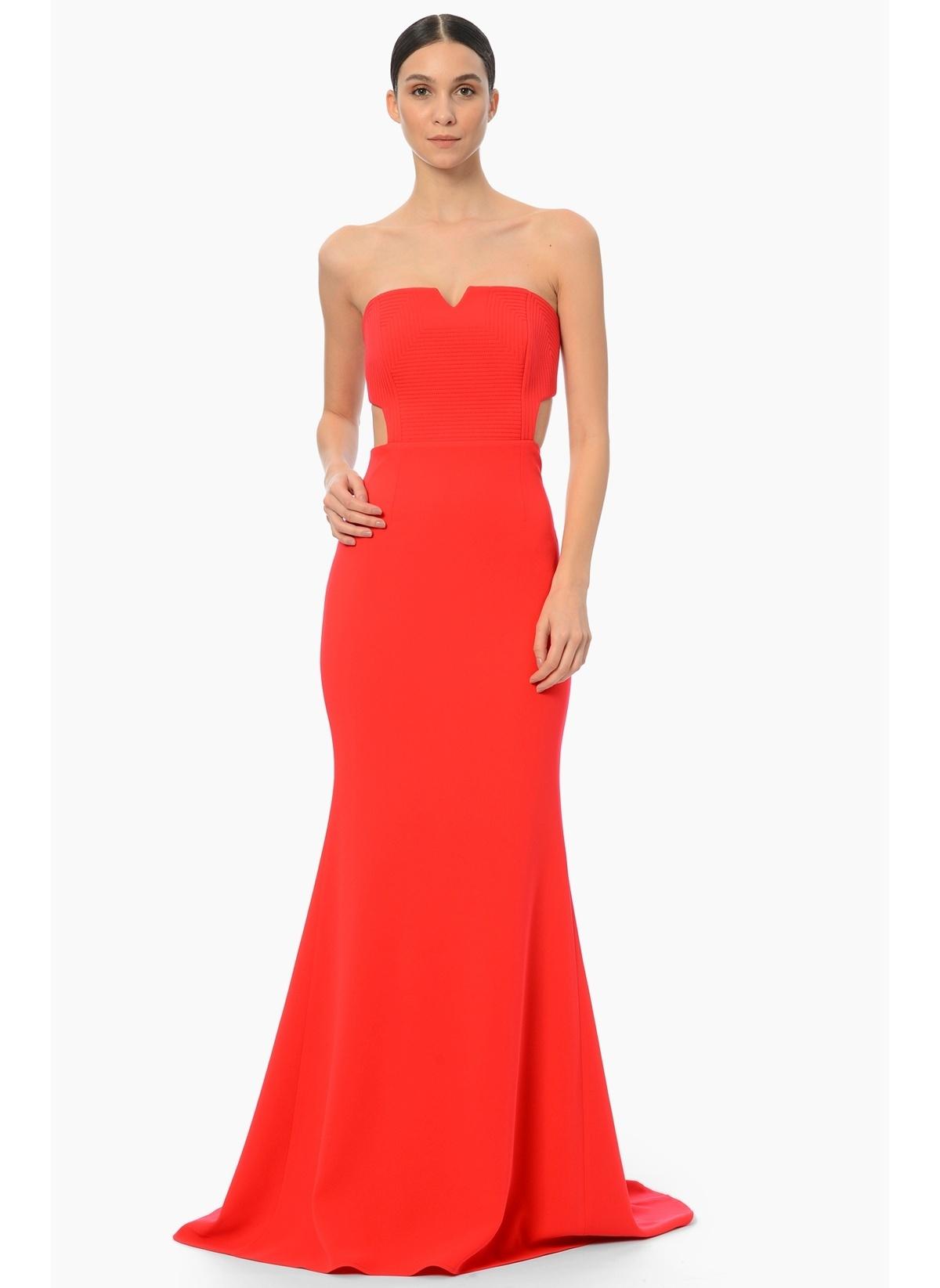 7288d93939097 NetWork Kadın Uzun Abiye Elbise Kırmızı | Morhipo | 20514955